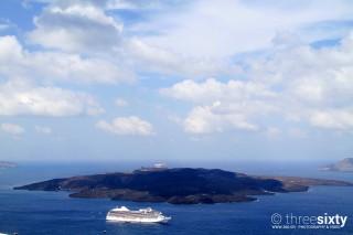santorini island margo houses cruise